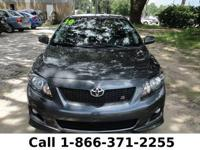 2010 Toyota Corolla S Features: 21k miles - automatic