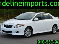 Super clean and nice, runs great, Toyota Corolla S with