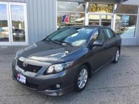 Introducing the 2010 Toyota Corolla! Very clean and