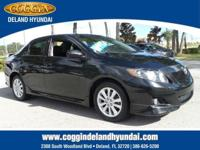CarFax 1-Owner, This 2010 Toyota Corolla S will sell