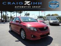 This 2010 Toyota Corolla will sell fast -Aux. Audio