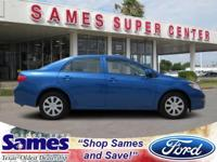 Only 68,795 Miles! This Toyota Corolla delivers a Gas