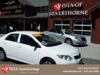 This 2010 Toyota Corolla has a clean Carfax and is