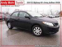 2010 TOYOTA Corolla SEDAN 4 DOOR Our Location is: Andy