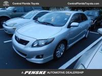 2010 Toyota Corolla Sedan 4dr Sdn Man S Sedan Our