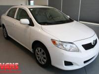 ~~~ 2010 Toyota Corolla LE ~~~ CARFAX: 1-Owner, Buy