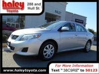 2010 Toyota Corolla Sedan LE Our Location is: Haley