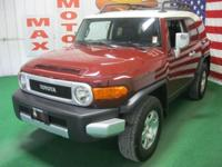 Options Included: N/A2010 Toyota FJ Cruiser 4WD, 4.0L