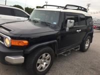 Black 2010 Toyota FJ Cruiser RWD 5-Speed Automatic 4.0L