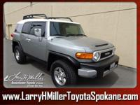 Only 67,910 Miles! This Toyota FJ Cruiser boasts a Gas