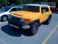 FJ Cruiser trim. CD Player, 4x4, Overhead Airbag,