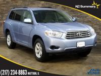 2010 Toyota Highlander Wave Line Pearl Accident Free