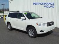 2010 TOYOTA HIGHLANDER!! 4WD, 3.5L V6, ALLOY WHEELS,