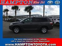 This Toyota Highlander offers all the comforts of a