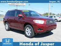 Options:  2010 Toyota Highlander Fwd 4Dr V6 Base|Front