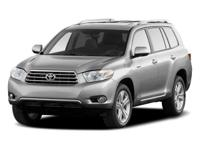 Tried-and-true, this 2010 Toyota Highlander Limited