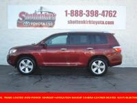 Options:  2010 Toyota Highlander Limited