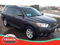 This outstanding example of a 2010 Toyota Highlander SE