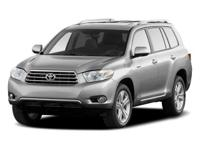CARFAX One-Owner. Black 2010 Toyota Highlander SE AWD