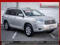 Options:  2010 Toyota Highlander