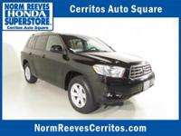 2010 TOYOTA Highlander SUV 4WD 4dr V6 SE Our Location