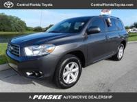 Base trim. Toyota Certified, CARFAX 1-Owner, ONLY