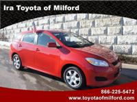 Ira Toyota Of Milford Presents This 2010 TOYOTA MATRIX