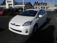 Toyota Certified and Clean Carfax. Hybrid! Go Green!