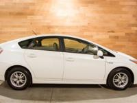New Price! CARFAX One-Owner. White 2010 Toyota Prius I