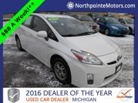 Options:  2010 Toyota Prius Ii|White|We Finance!