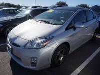 Recent Arrival! 2010 Toyota Prius III Solar Roof &