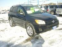 RAV 4 ALL WHEEL DRIVE,2.5 4 CYLINDER, AUTOMATIC TRANS,