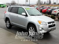 RAV4 Limited Sunroof, 4D Sport Utility, 4WD, and Ash