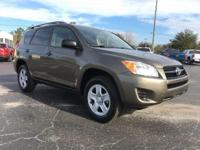 Brown 2010 Toyota RAV4 FWD 4-Speed Automatic 2.5L