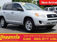 Clean CARFAX. This 2010 Toyota RAV4 in Classic Silver