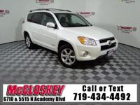 This RAV4 is the Perfect Family Vehicle! 4WD, Leather,