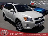 Leather Interior. RAV4 Limited, 4D Sport Utility, 3.5L