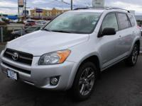 New Price! Toyota RAV4 Silver 4WD. 27/21 Highway/City
