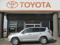 TOYOTA CERTIFIED RAV-4, BOUGHT NEW AND SERVICED HERE,