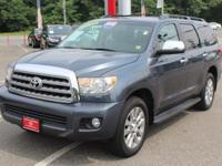 Spruce Mica 2010 Toyota Sequoia Limited 4WD 6-Speed
