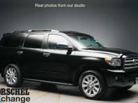 Black 2010 Toyota Sequoia Platinum with 42k!!!6-Speed