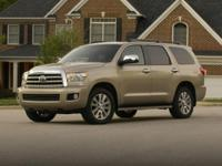 2010 Toyota Sequoia and 2 Years of Maintenance