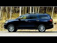 2010 TOYOTA Sequoia SUV RWD LV8 6-Spd AT Platinum Our