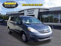 This 2010 Toyota Sienna LE is proudly offered by Burns