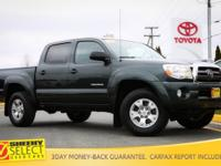 This Sheehy Select CERTIFIED and ONE-OWNER 2010 Tacoma