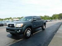 New Price! This 2010 Toyota Tacoma in Green features: