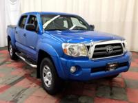 Our 2015 Toyota Tacoma SR Double Cab 4WD, in Blue, has
