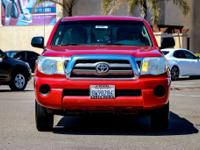 Options:  2010 Toyota Tacoma Base|Red|New Price! Abs