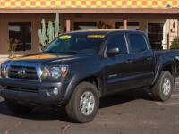 Options:  2010 Toyota Tacoma D-Cab Prerunner Short