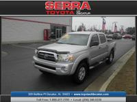 Crew Cab! Short Bed! Here at Serra Toyota of Decatur,